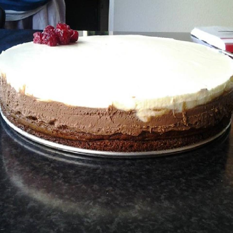 Chocolate Mascarpone Layer Cake
