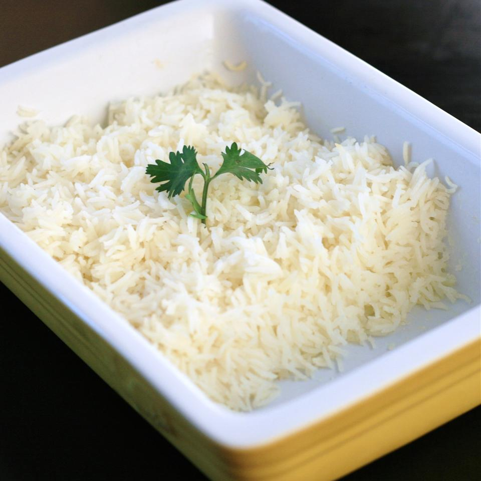 Oven Baked Rice