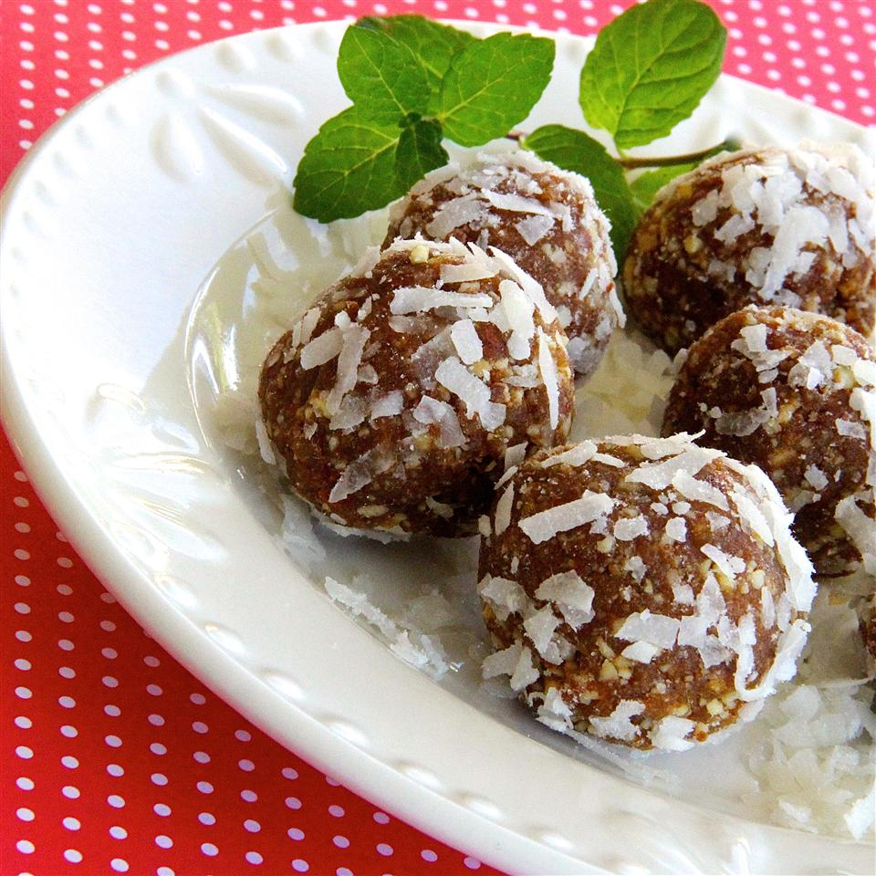 Coconut-Apricot Truffles USA WEEKEND columnist Jean Carper