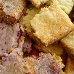 Cream Cheese Bars I Cherries