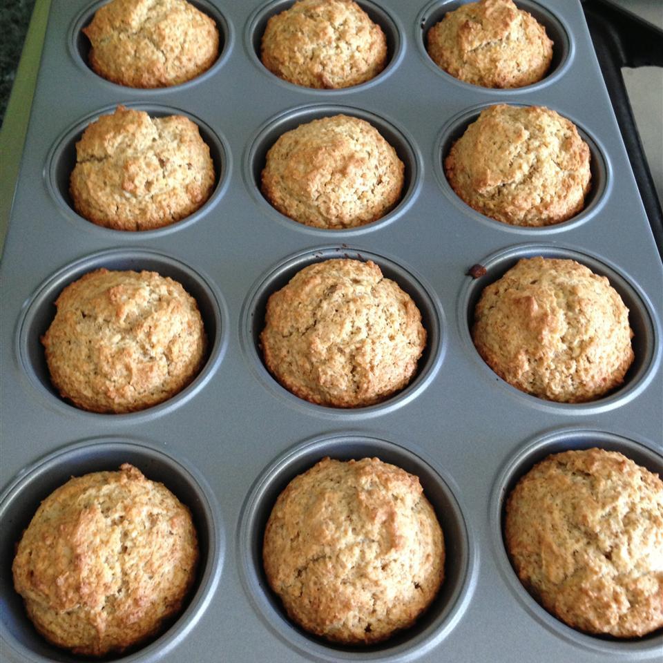 V's Apple Bran Muffins