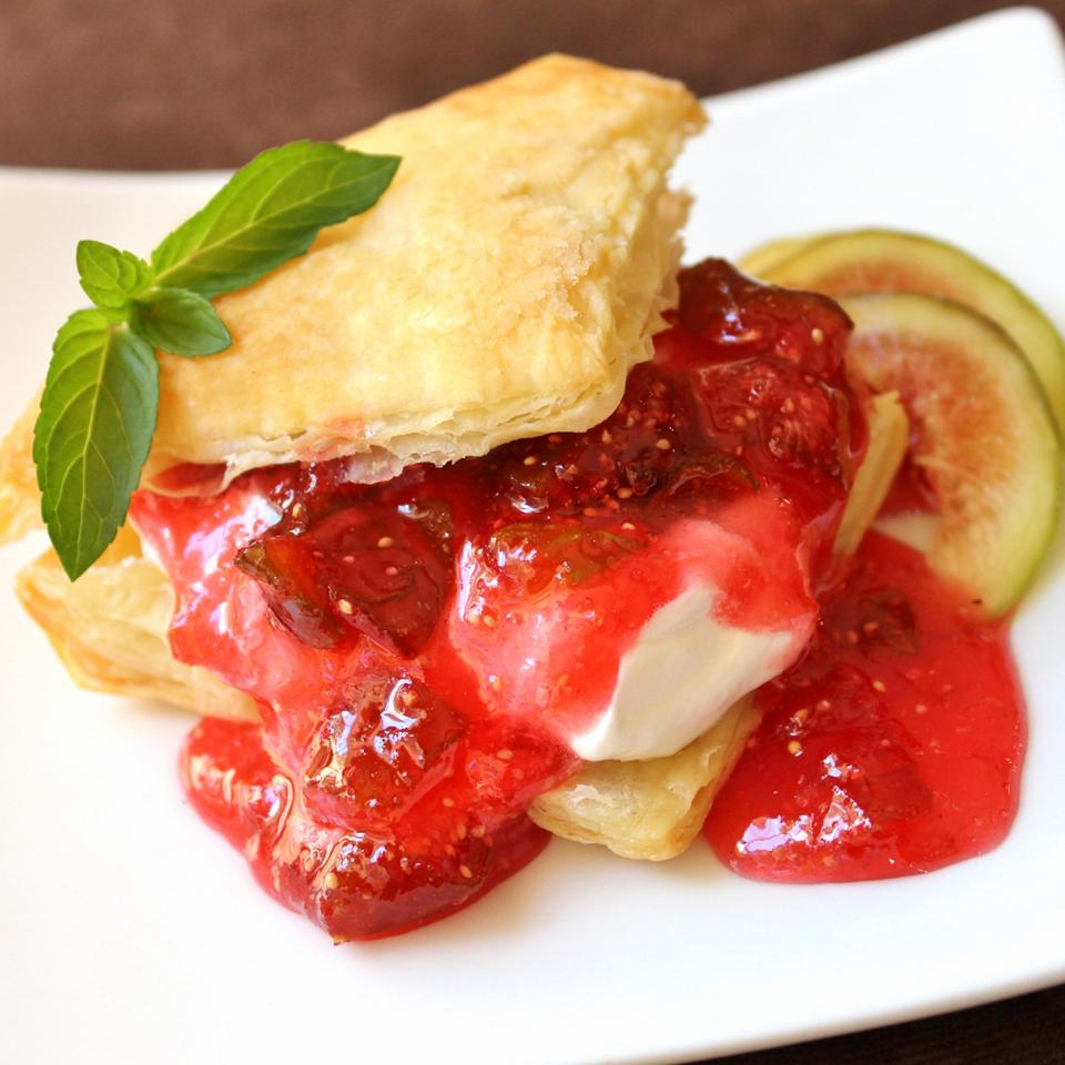 Strawberry Fig Preserves Melissa Goff