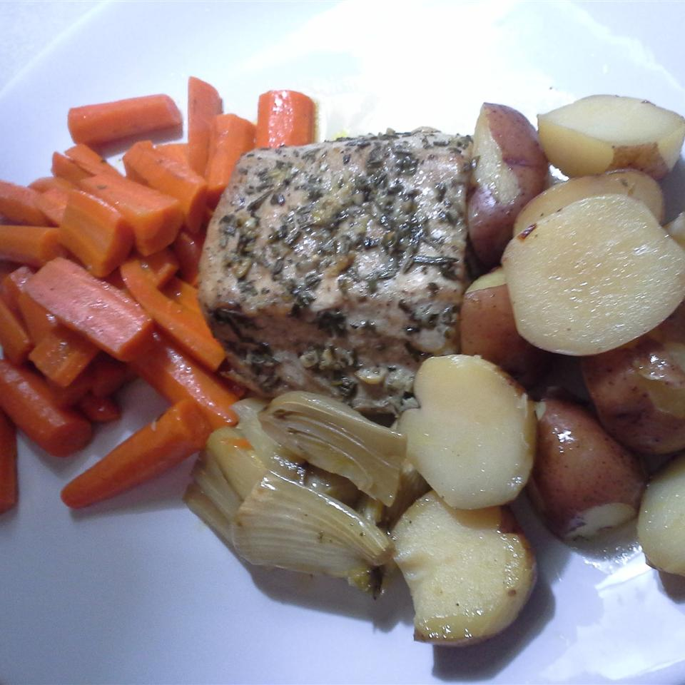 Healthier Roasted Pork Loin Kerri Abbey Al-Khazraji