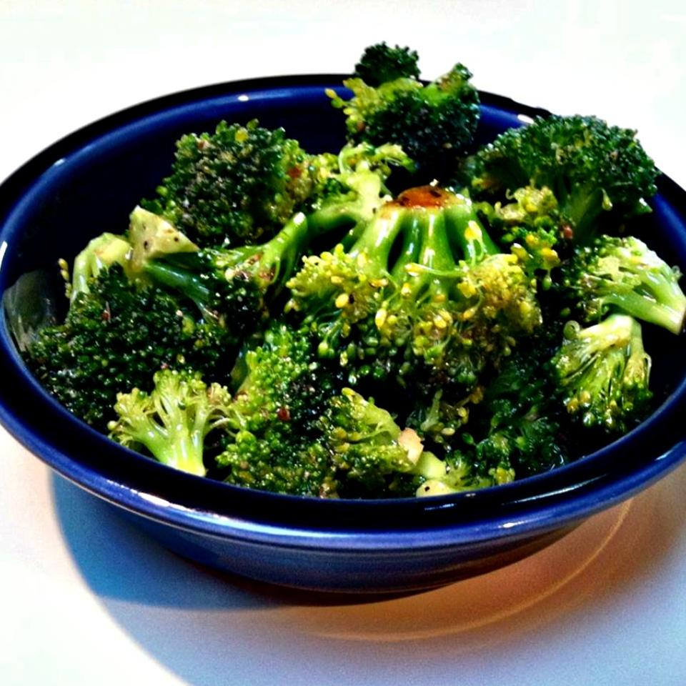 Simple Marinated Broccoli