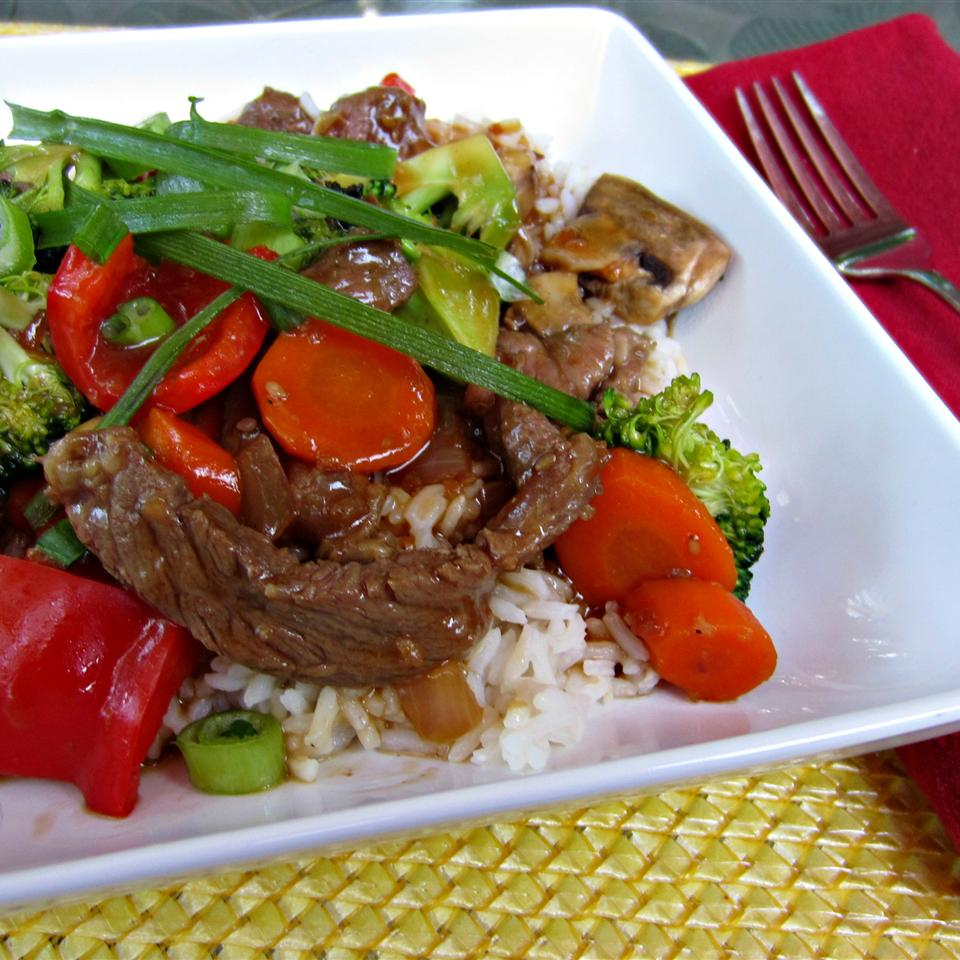 Sizzling Bison Steak Stir-Fry ReneePaj
