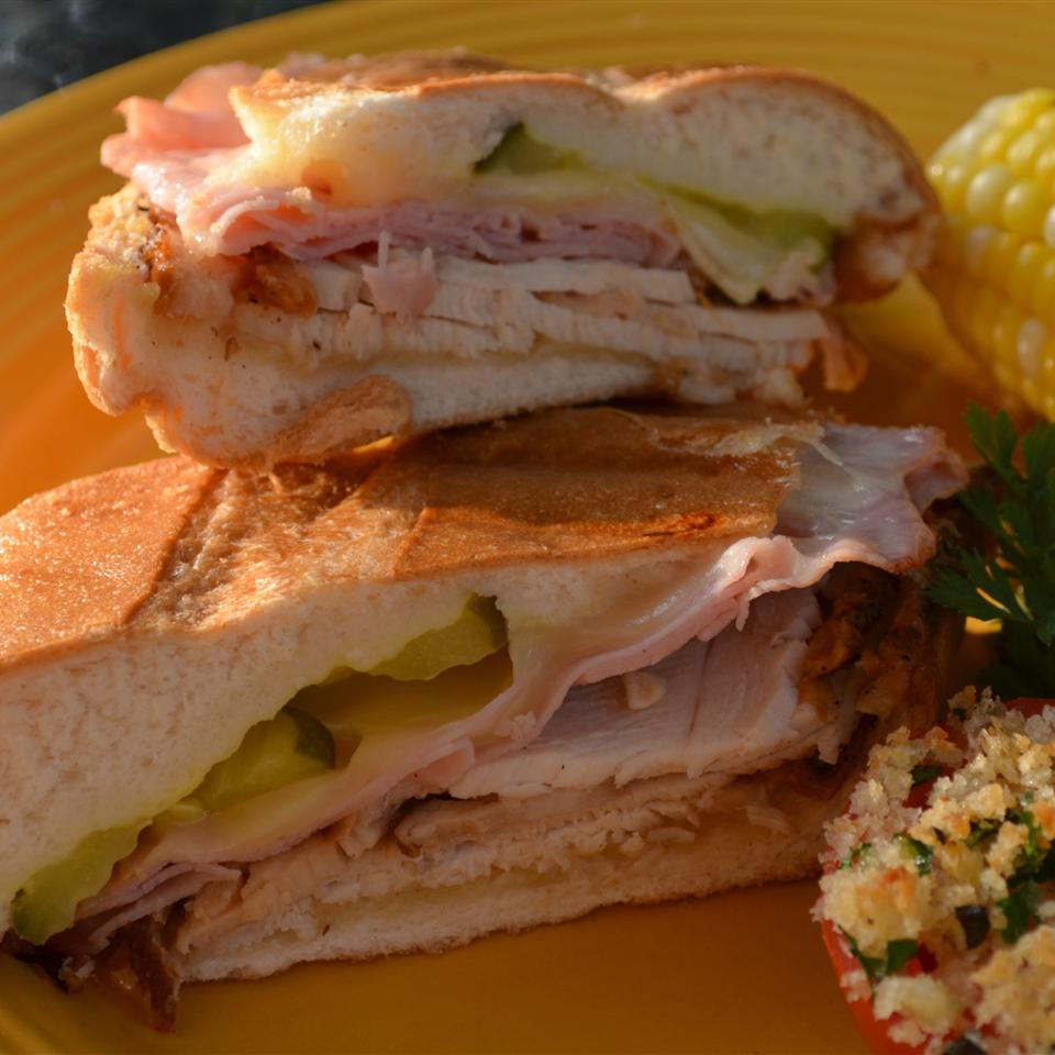 Grilled Turkey Cuban Sandwiches Kim's Cooking Now
