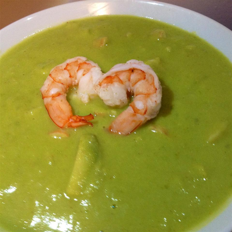 Avocado Shrimp Bisque