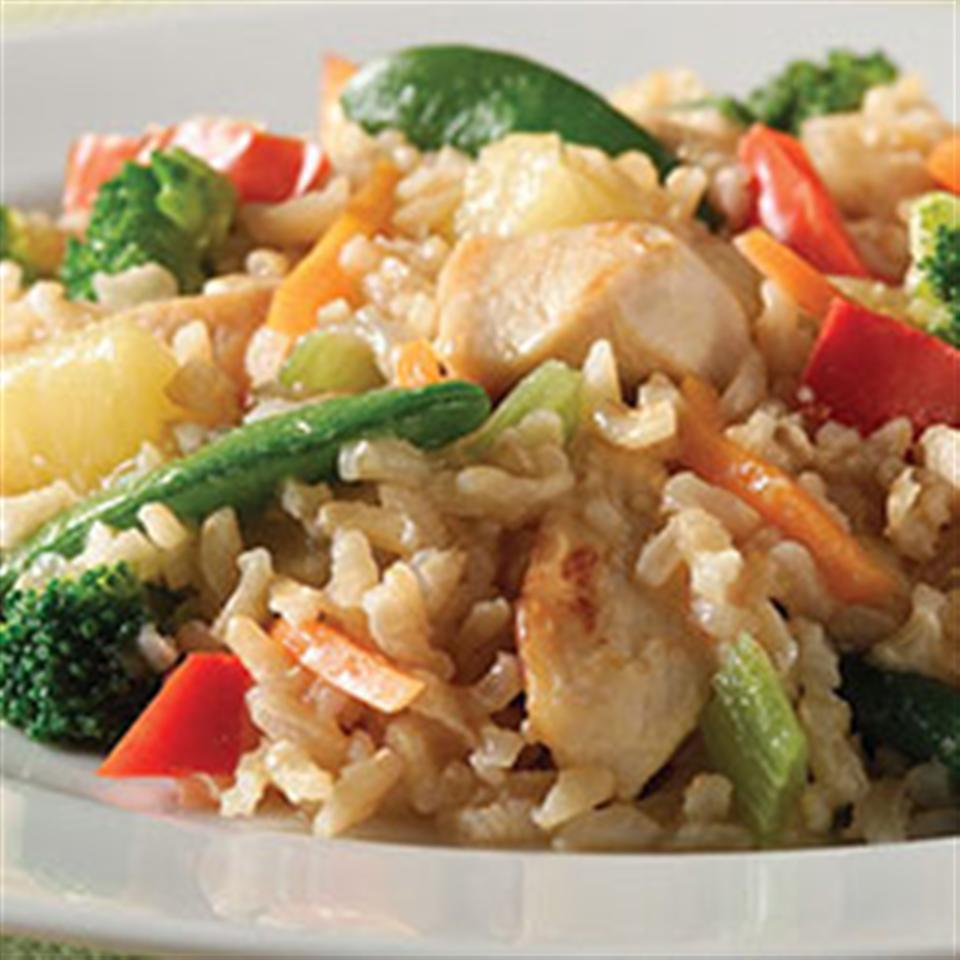 Easy Sweet and Sour Chicken from Minute® Rice
