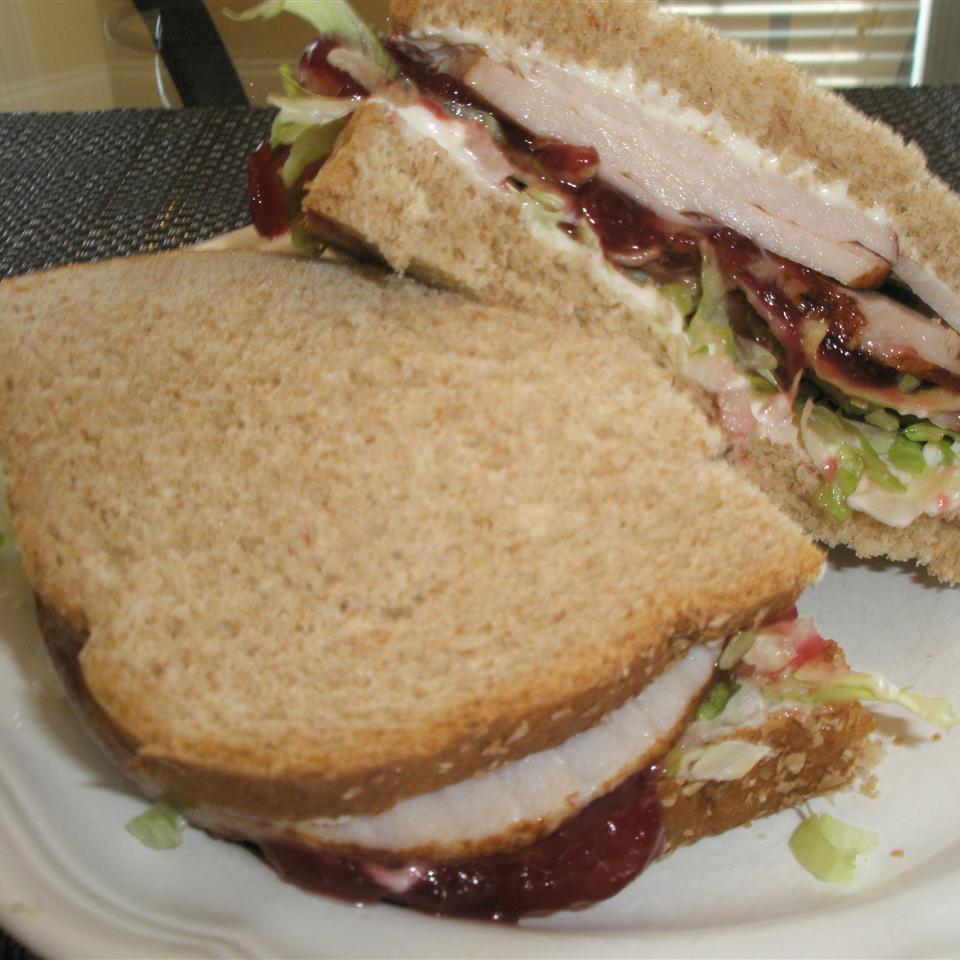 Cranberry Thanksgiving Turkey Sandwich Tracey Ferrari Posner