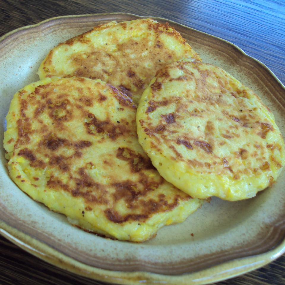 Zucchini Cheddar Pancakes Patches