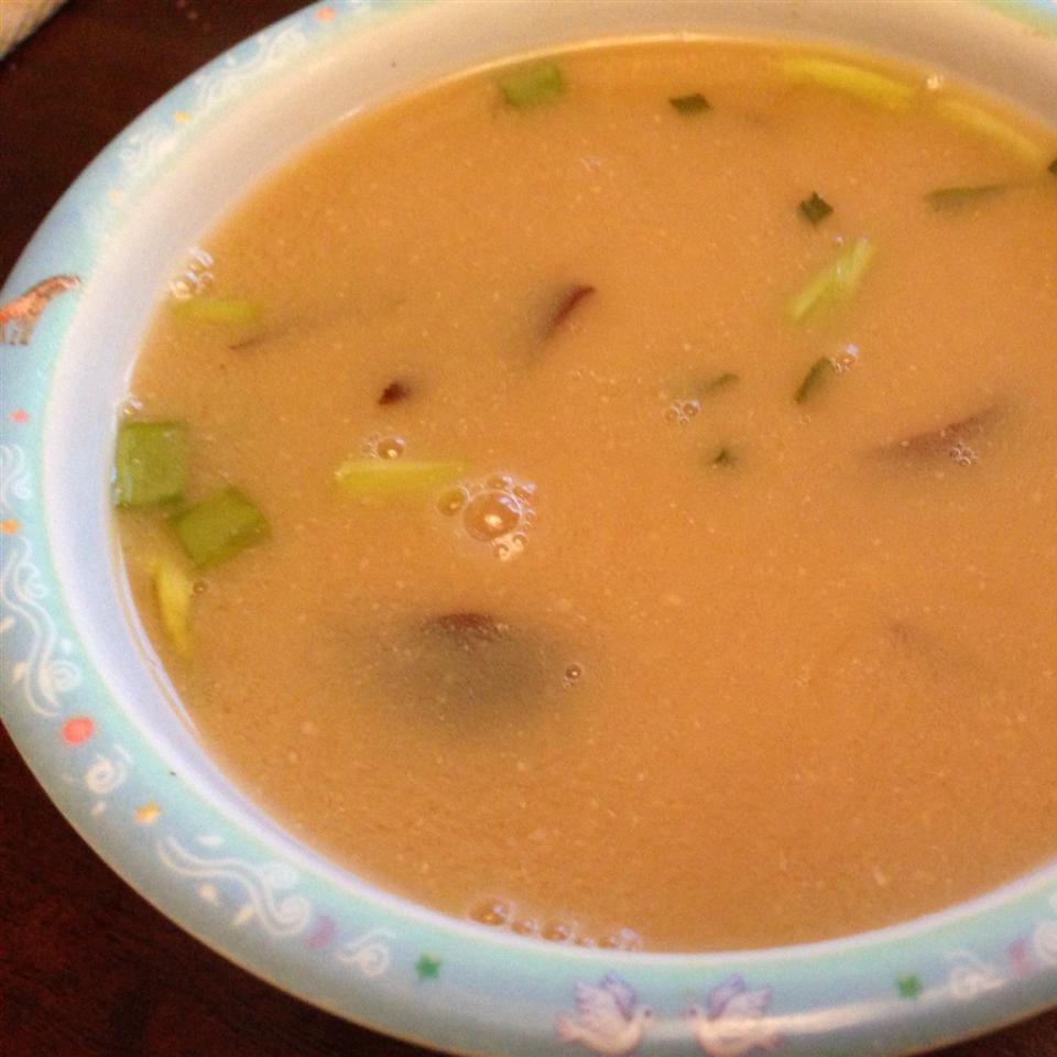 Miso Soup with Shiitake Mushrooms Alyonushka
