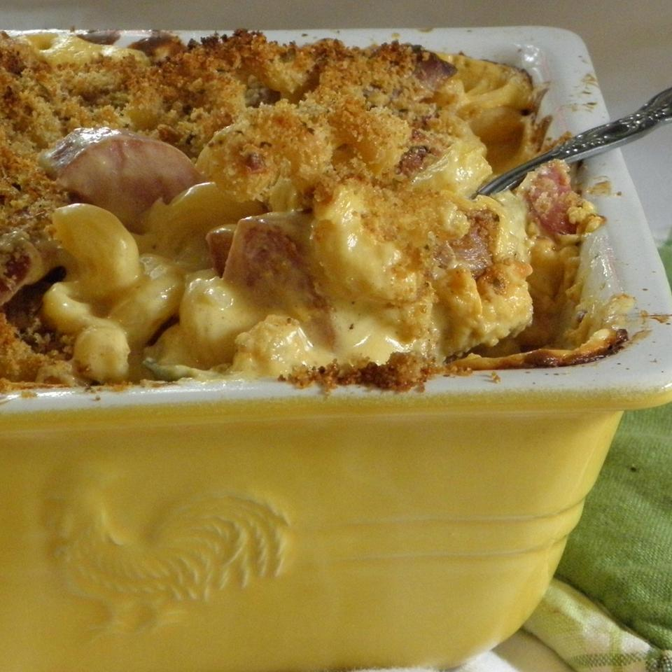 Classic Smoked Sausage Mac and Cheese