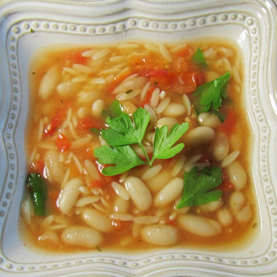 Chicken Soup With Pasta and White Beans Ben S.