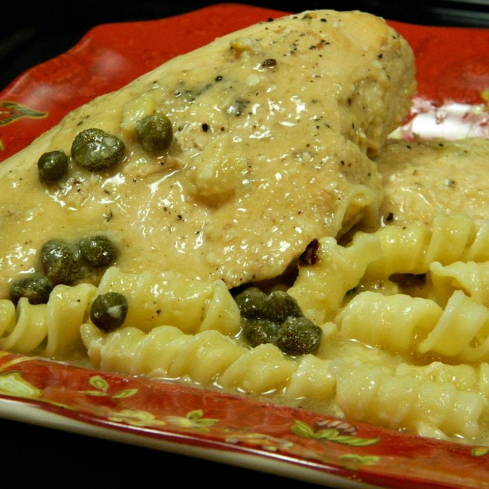 Arica's Chicken Piccata Marianne