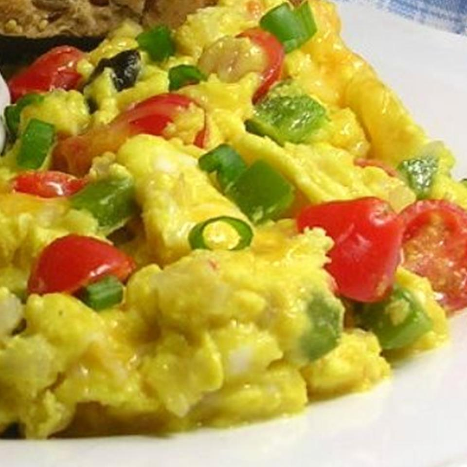 Extreme Veggie Scrambled Eggs DIZ♥