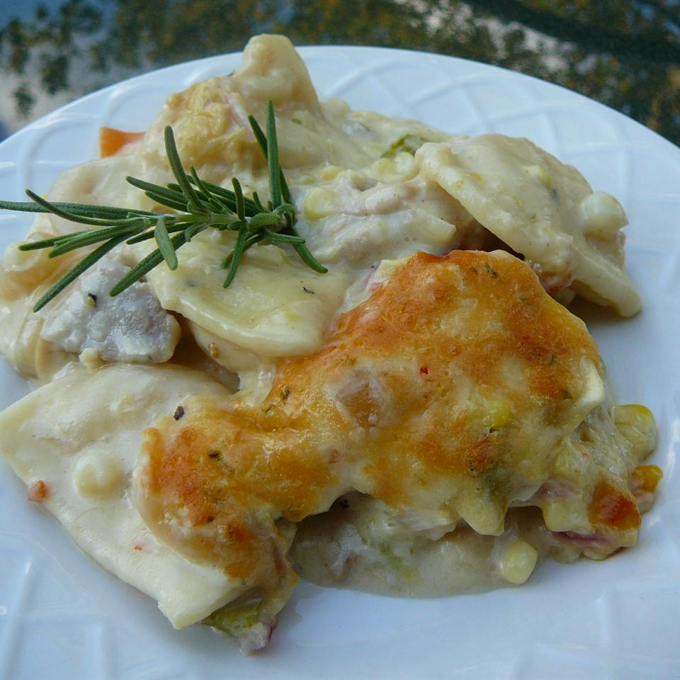 Momma Moots' Pork and Pierogies Casserole Marsha Leigh Bogardus