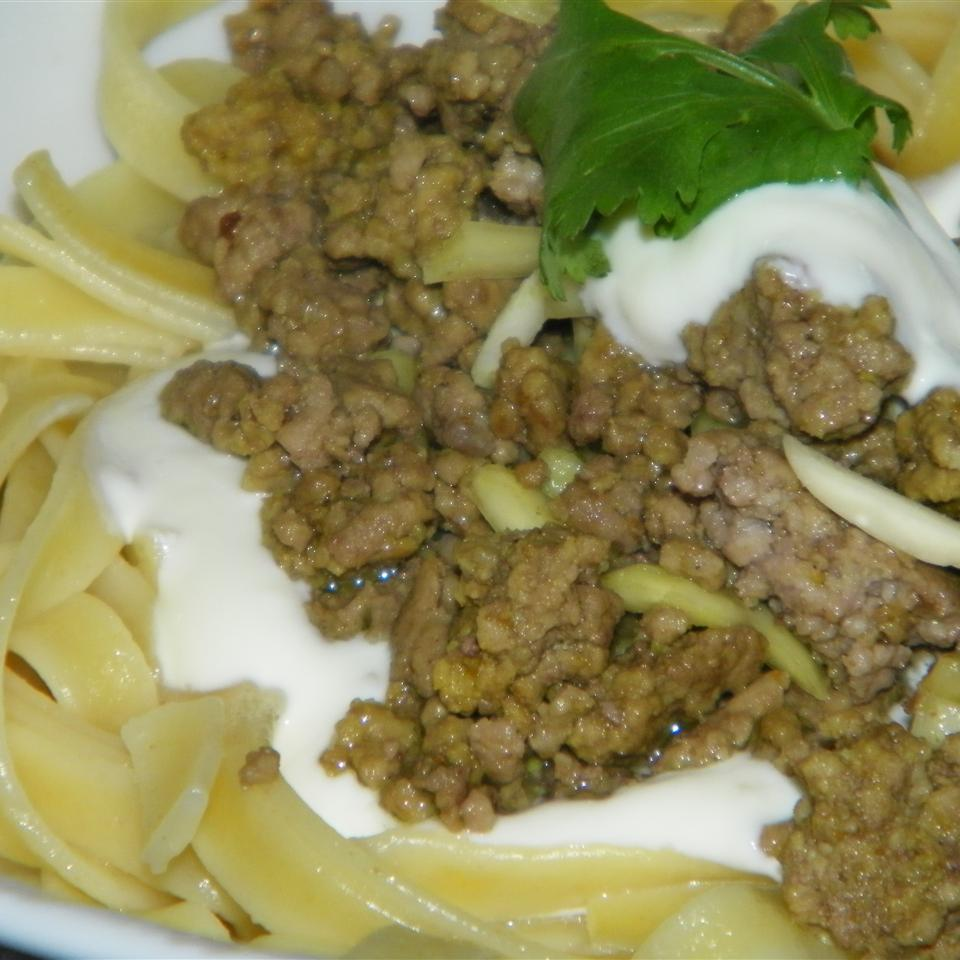 Middle Eastern Pasta With Yogurt and Pine Nuts Seattle2Sydney