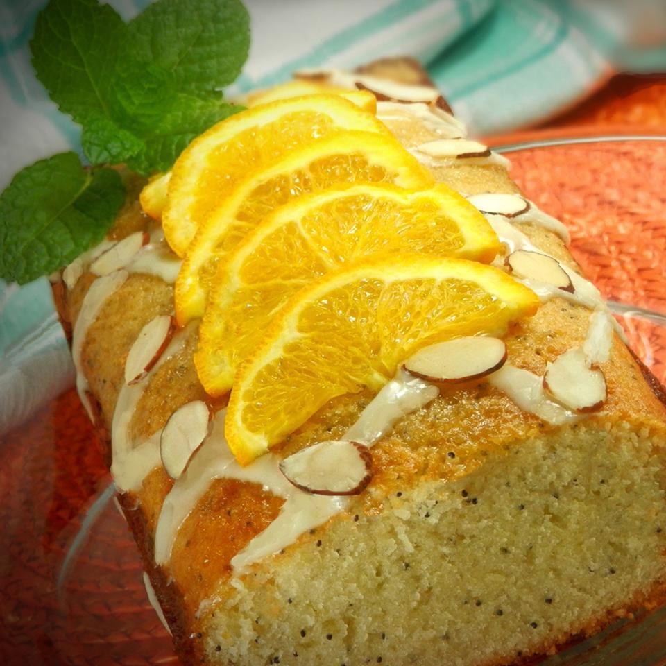 Orange-Almond Poppy Seed Bread Nanby