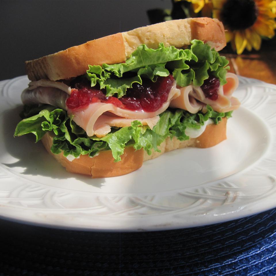 Cranberry Thanksgiving Turkey Sandwich Cynthia Ross