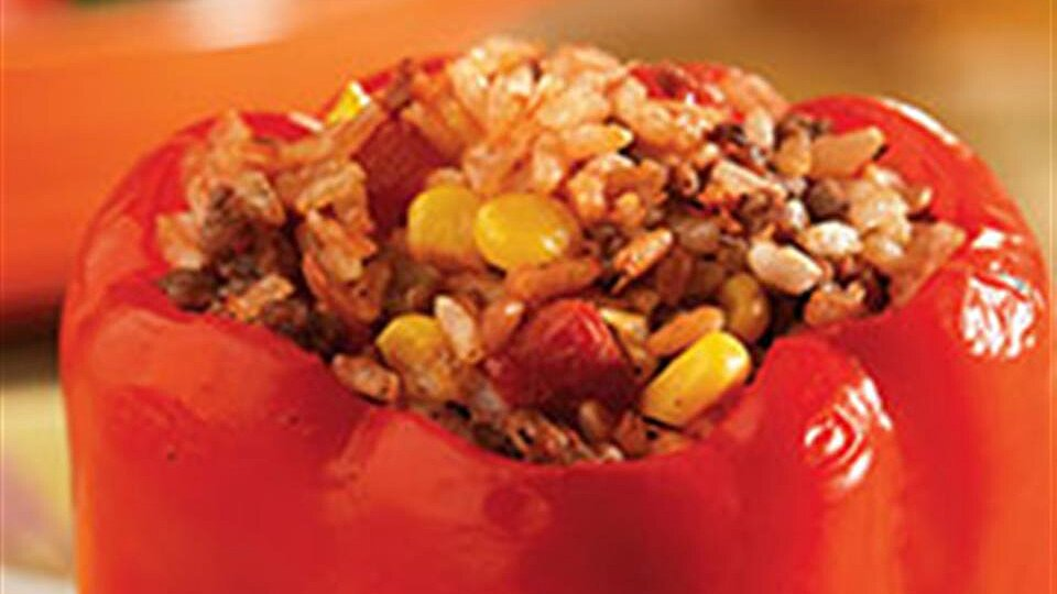 Easy Santa Fe Style Stuffed Peppers