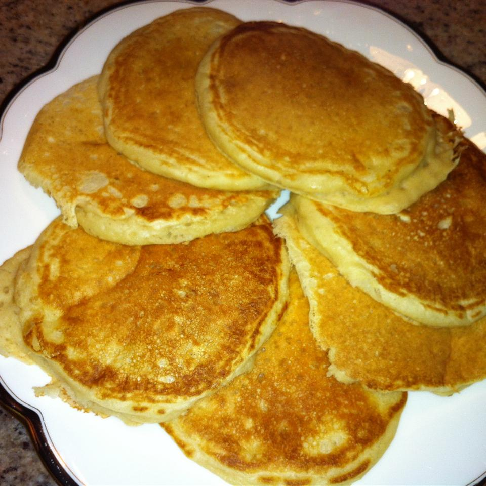 Buttermilk Pancakes with Vanilla and Nutmeg valerie_o
