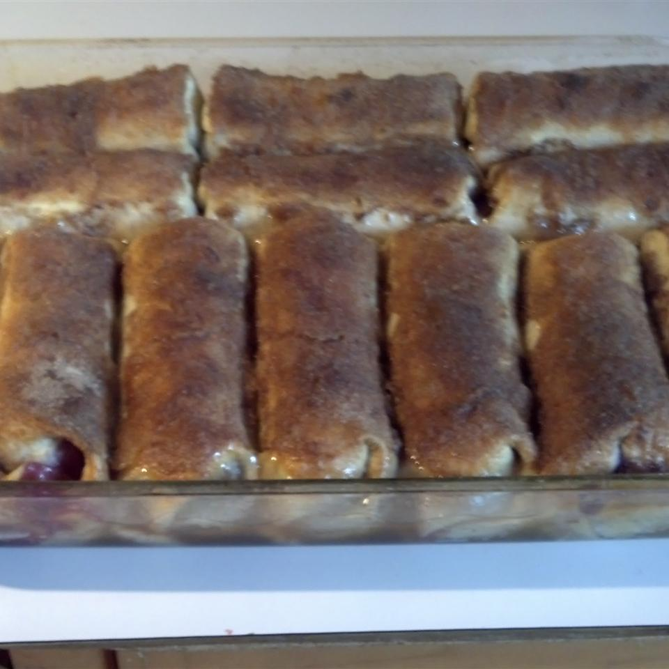 Cherry Enchiladas