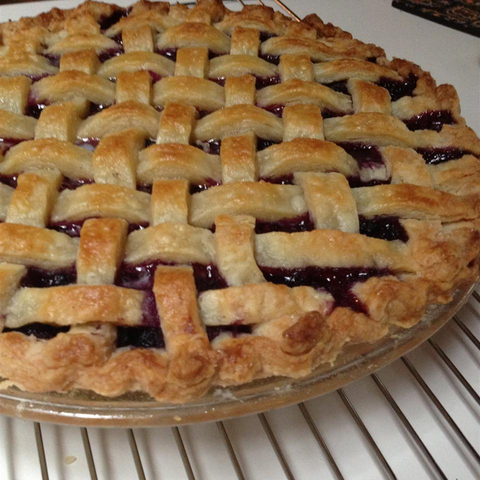 Mystery Ingredient Wild Blueberry Pie