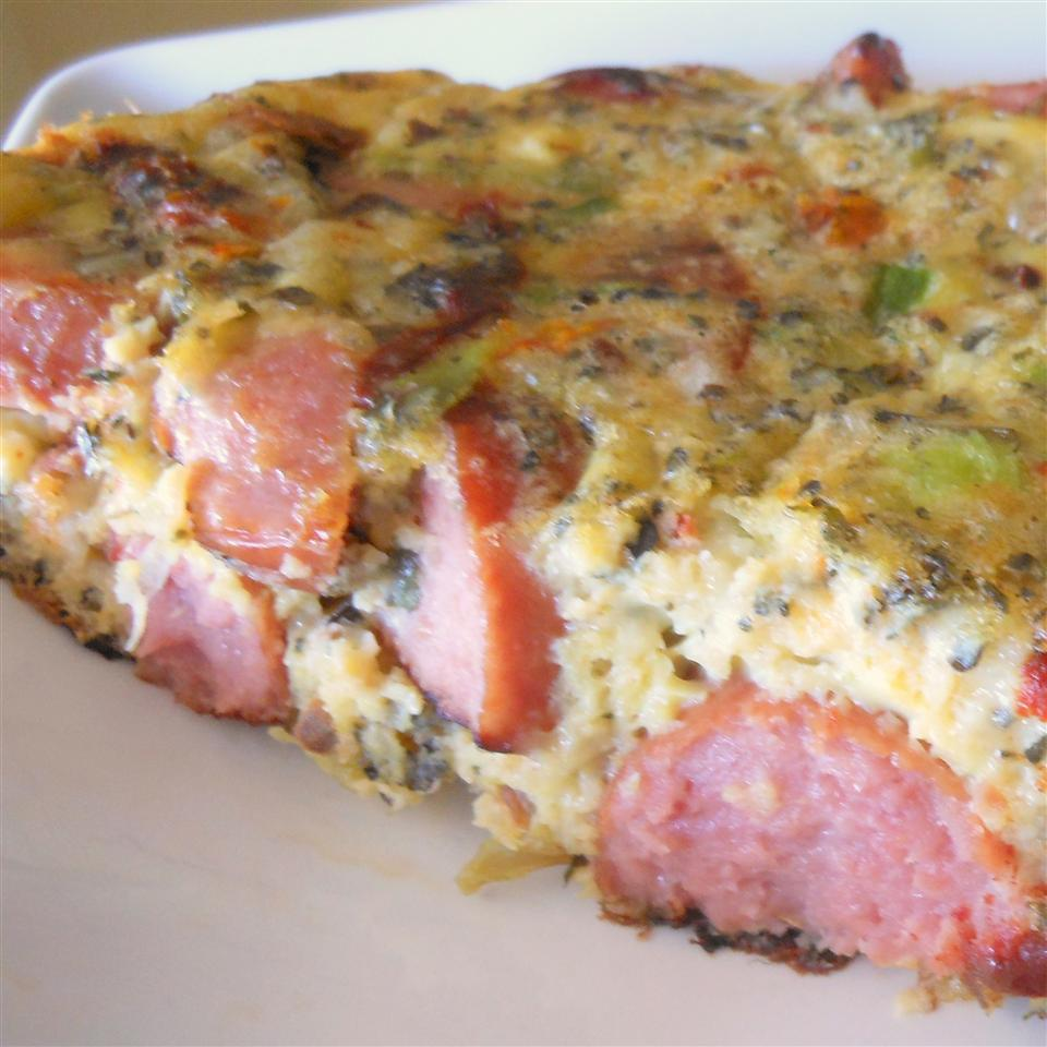 Smoked Sausage Frittata