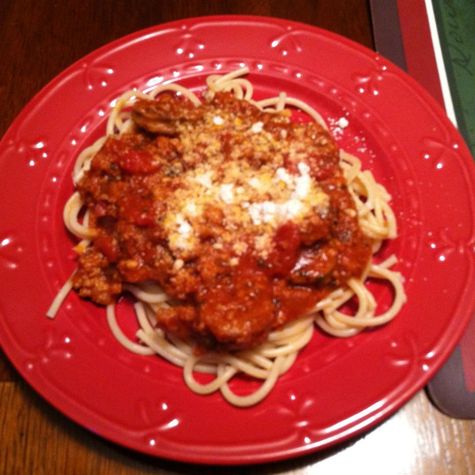 Jan's Yummy Spaghetti Janice Michael Johnson