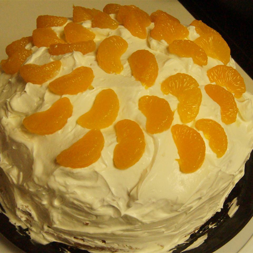 Orange Cream Cake IV