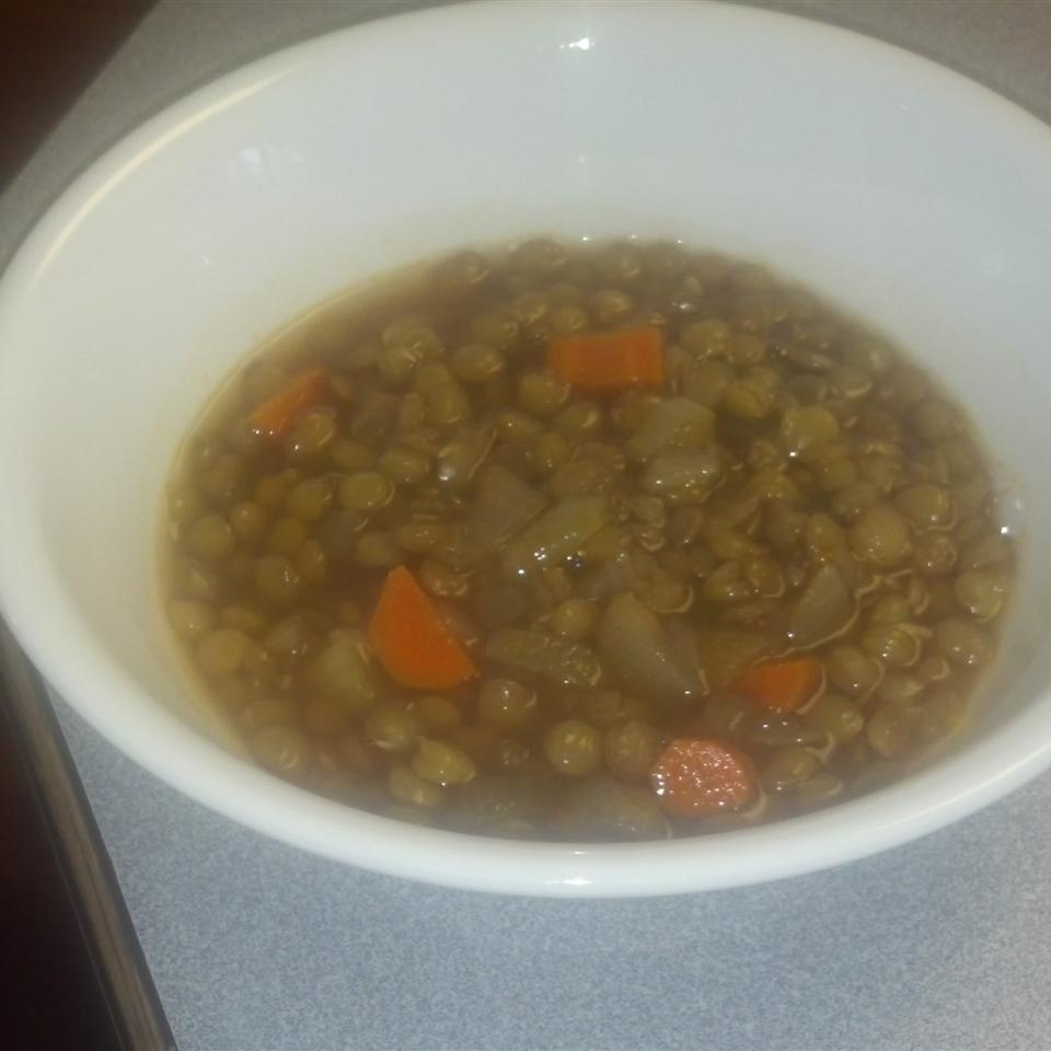 Spicy Lentil Soup happygirlof5