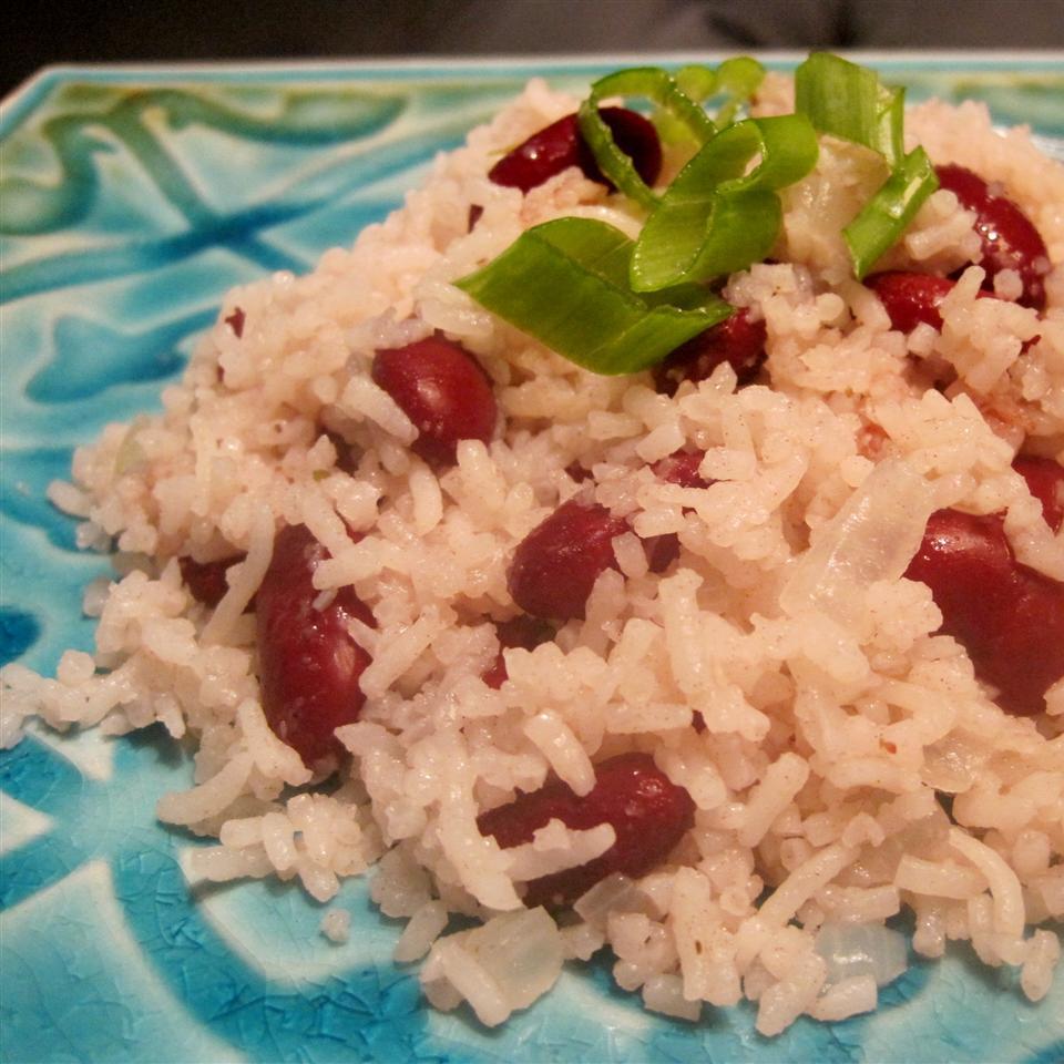Rice & Beans (Haitian Style) La La