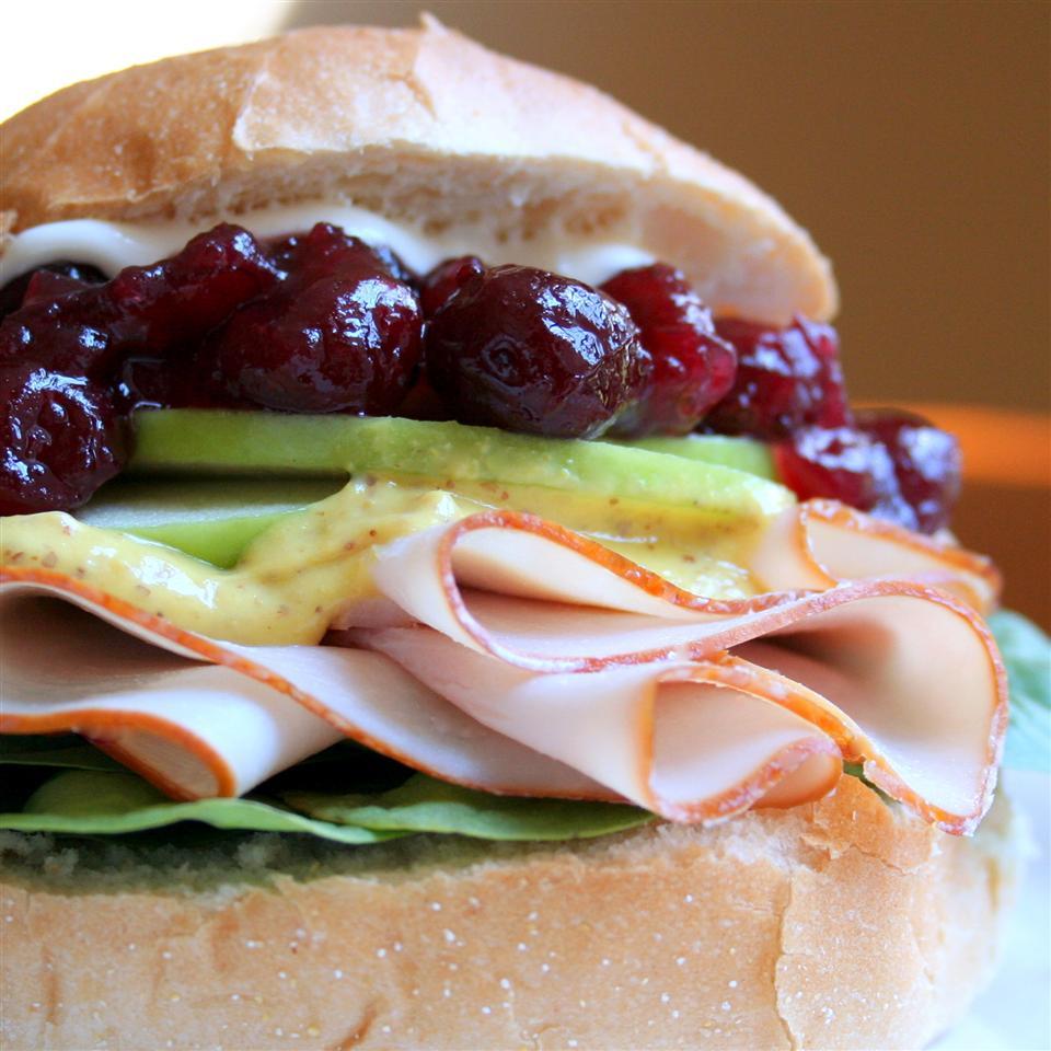 Cranberry Thanksgiving Turkey Sandwich Jennifer Baker