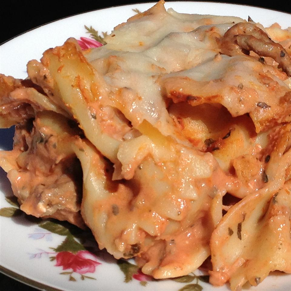 Creamy Pasta Casserole Crystal Wold