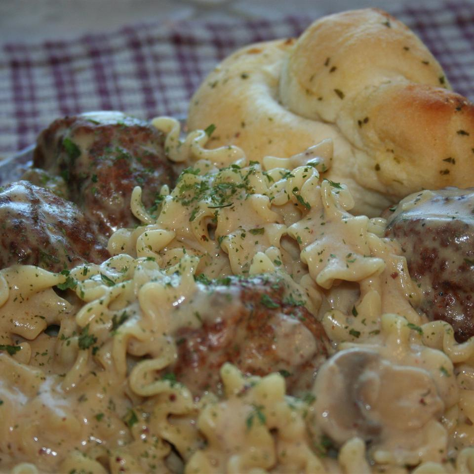 Elegant Stroganoff Meatballs Ms. Chef Esh