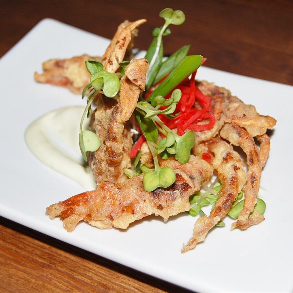Fried Soft-Shell Crab Aja