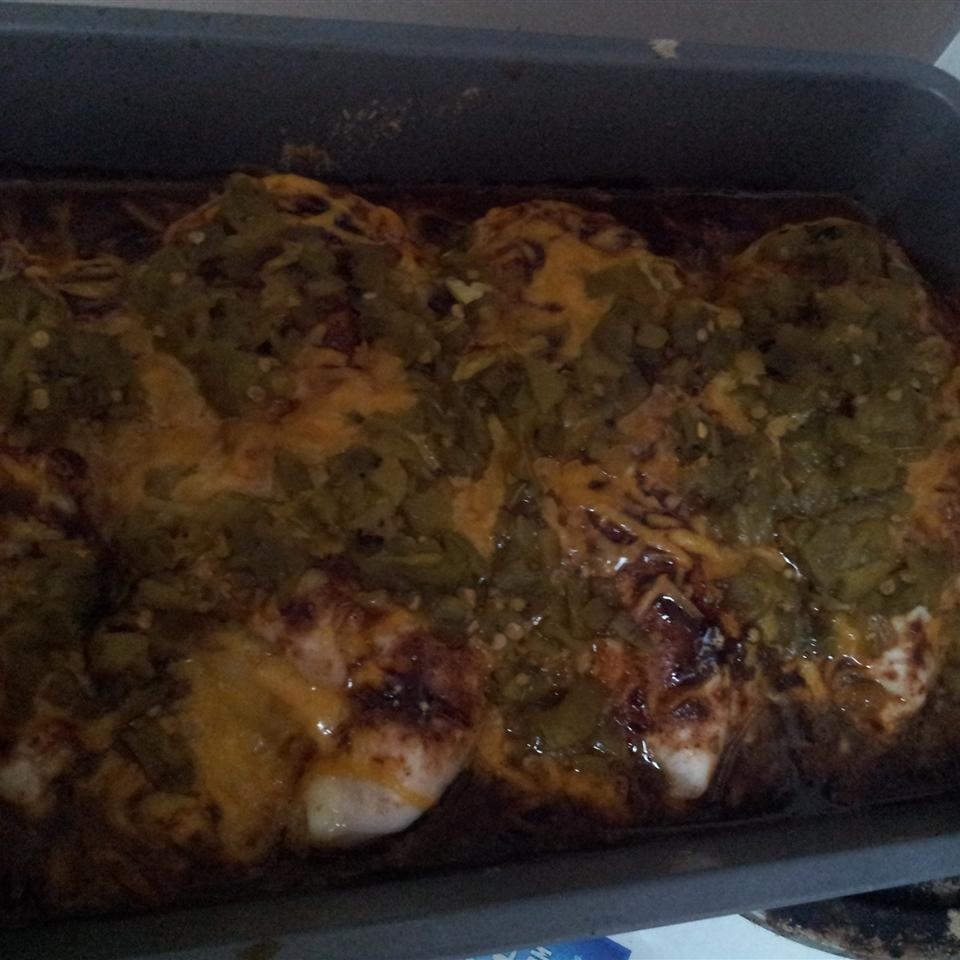 Green Chili and Cheese Chicken june221987