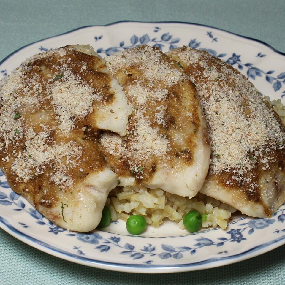 Mustard Crusted Tilapia Paula