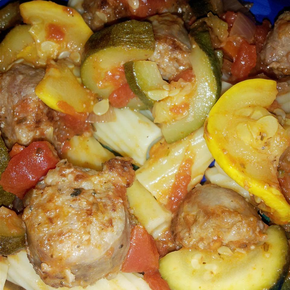 Italian Sausage and Zucchini Chicken143