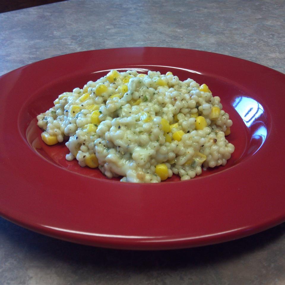 Creamy Corn Couscous Poetisa