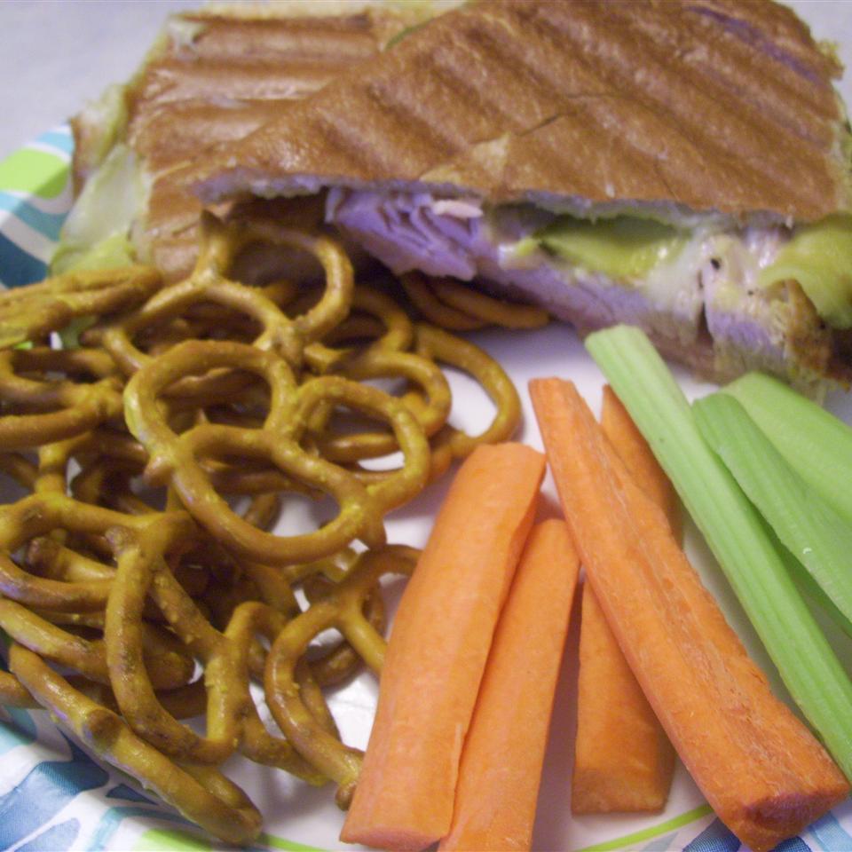Grilled Turkey Cuban Sandwiches
