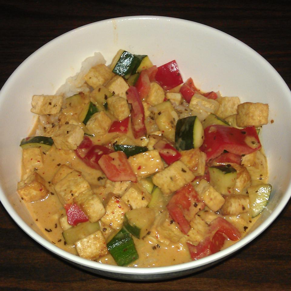 Lime-Curry Tofu Stir-Fry Donald Shank