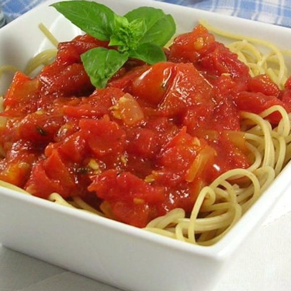 Fresh Tomato Basil Sauce DIZ♥