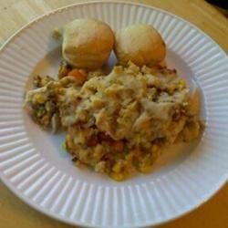 Gravy Stuffing Chicken Bake HaliV