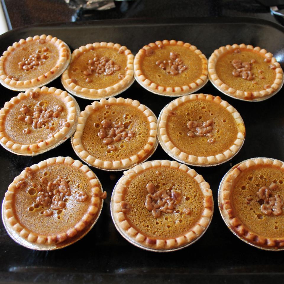 Pumpkin Toffee Pie