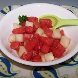Cucumber-Watermelon Salad Anonymous