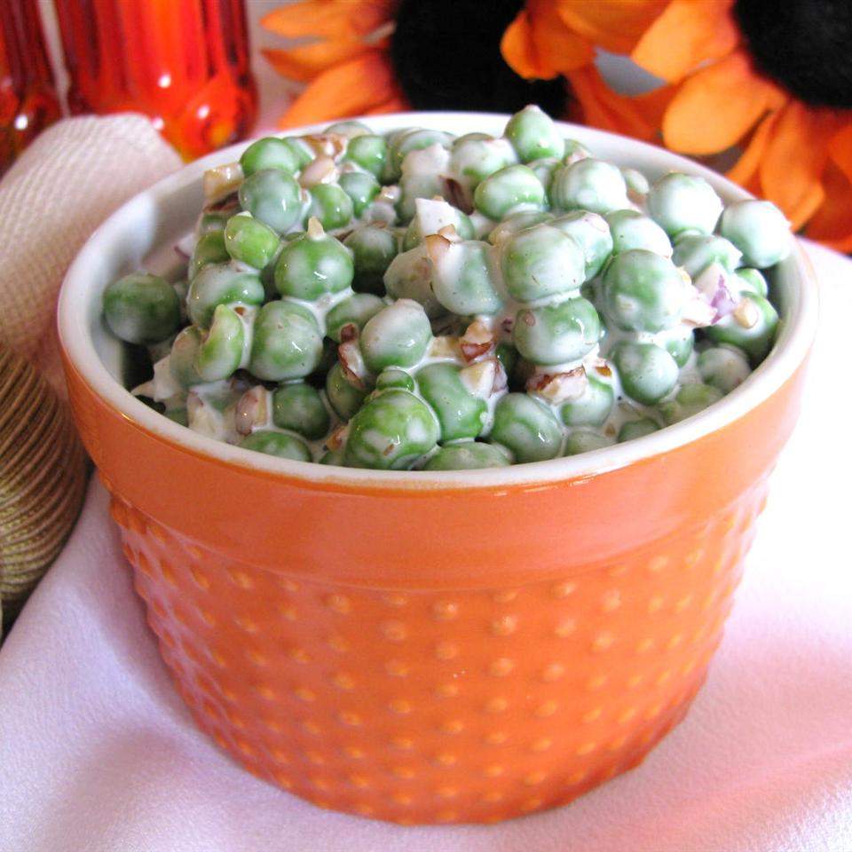 #1 Pea Salad Most Requested! Sugarplum