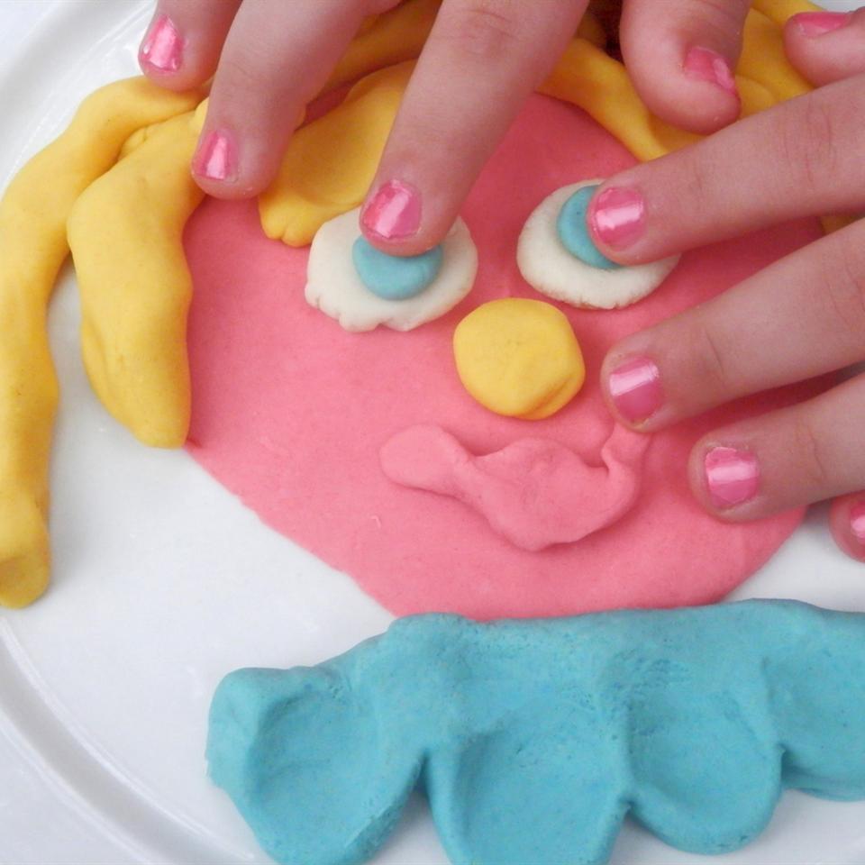 Colorful and Edible Play Dough