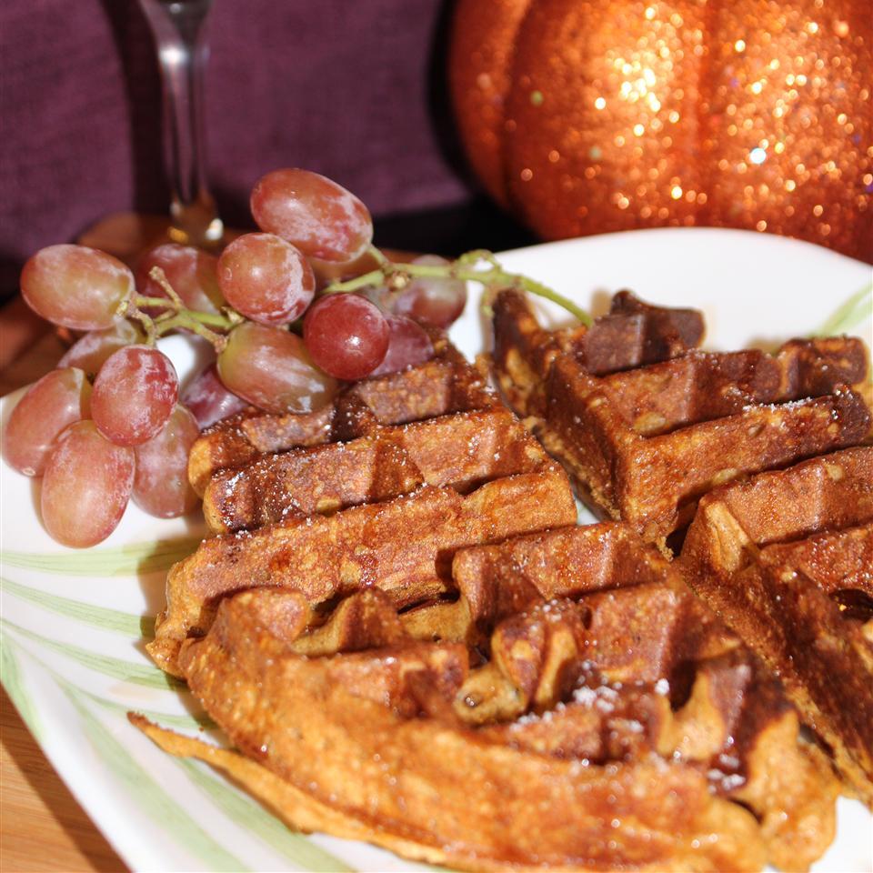 Pumpkin Waffles Jaana Smith Bauman