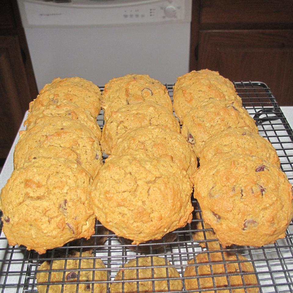 Grandma's Pumpkin Oatmeal Cookies anjelique
